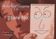 Note Pad Surprise 2.0  – magic Trick,props,close up magic,magic accessories