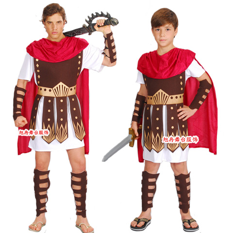 Halloween Costume Party Childrenu0027s Roman Warriors Qishifu Gladiator Suit Adult Extra Large Clothing For The Performing Arts Men-in Scary Costumes from ...  sc 1 st  AliExpress.com & Halloween Costume Party Childrenu0027s Roman Warriors Qishifu Gladiator ...