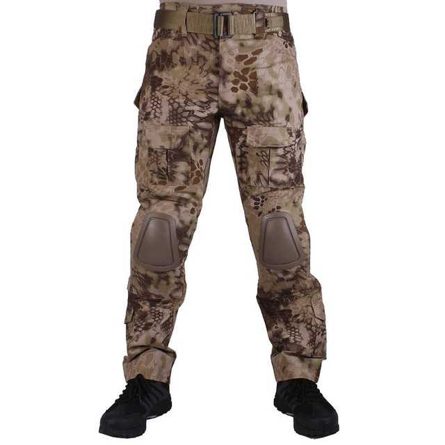 G2 Army Uniform BDU Military Tactical Combat Shirt Pants Suit Men Kryptek Highlander Camouflage Airsoft Sniper Hunting Clothes 5