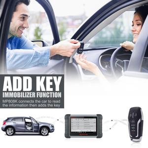 Image 2 - Autel MaxiPRO MP808K Automotive Diagnostic Scan Tool with Key Fob Programming, Active Tests, OE Level All Systems Diagnosis,
