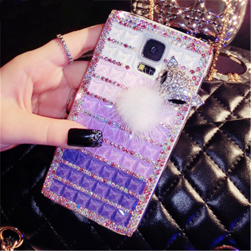 Diamond Phone Covers Luxury Shining Fox Rhinestone PC Jelly-like Phone Case For LeTV LeEco Le 1S / 2 / 2 Pro / Max 2