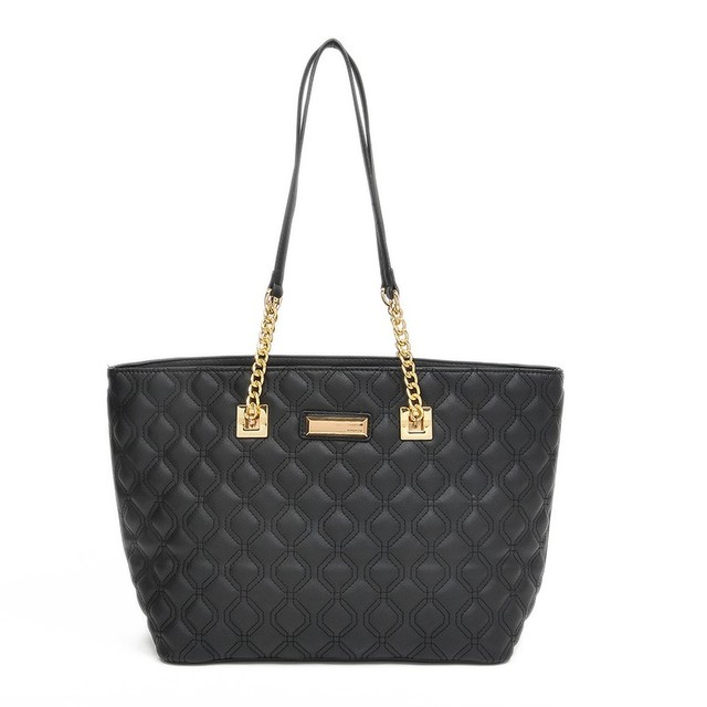Tote Hobo Women Handbags Black Quilted Bag Designer Quality Las Bags Bolsa