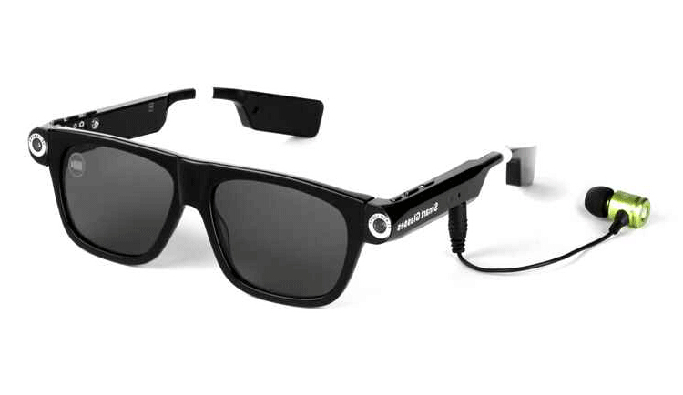 Dial Call Smart Glasses GPS Answer Call Smart Electronics Wearable Vid