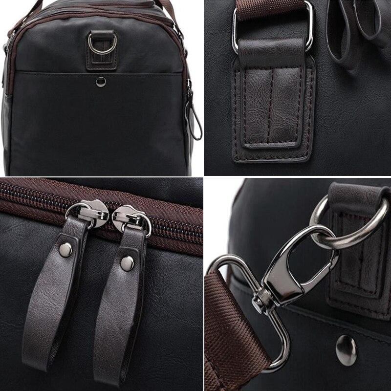 Nuevo Negro deportes gimnasio bolsa de Oxford impermeable bolso bolsos de  hombro bolsos bandolera de viaje 904df224125b2