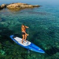 381*81*15 cm AQUA MARINA 2019 HYPER gonflable sup stand up paddle board planche de surf gonflable planche de surf vitesse de course rapide eau
