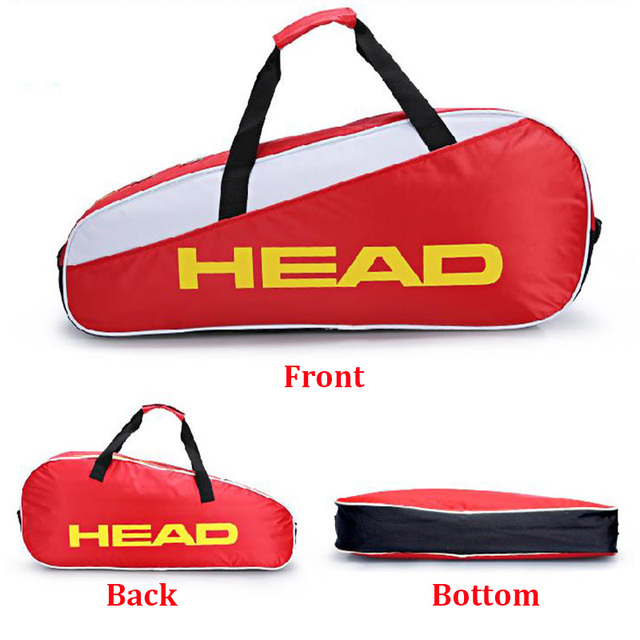 Head Adult Tennis Bag Single Shoulder Racket Sports Men's Racquet Bolso For Tenis Squash Badminton Accessories Outdoor Handbag