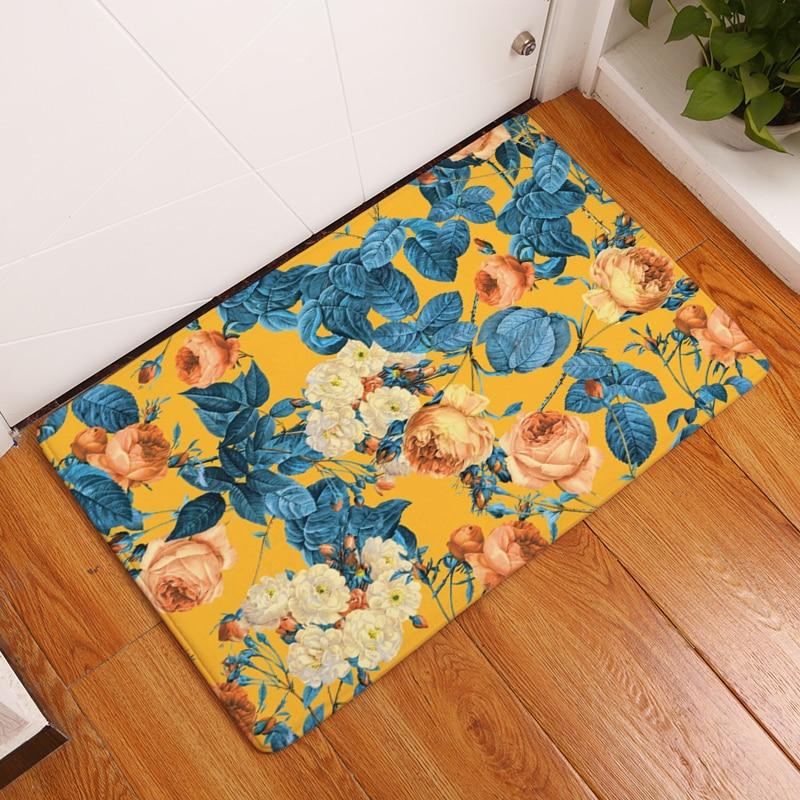 20 Style Floral Print Teppiche Anti-Rutsch-Bodenmatte - Haustextilien - Foto 3
