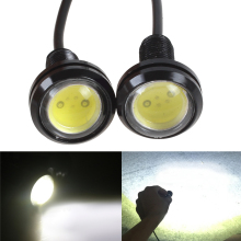 White Eagle Eye LED Car Light Lamp, Waterproof External Light Styling