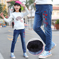 High Quality Denim Pants For Girls Winter Jeans Kids New Cotton Girls Trousers Autumn Children Jeans Pants 3 5 7 9 11 12