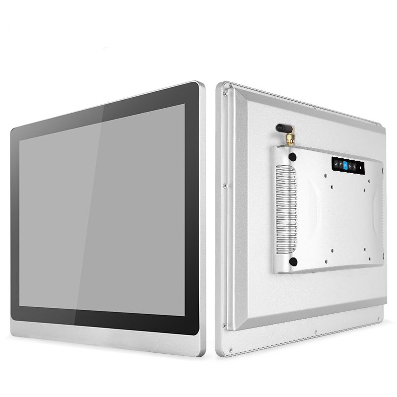 Industrial 17 Inch Lcd Panel All In One PC, Capacitive Touchscreen Computer