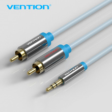 Vention 3.5mm to 2 RCA Audio Cable RCA Jack Cable 2 RAC male to 3.5 male Aux Cable for Edifer Home Theater DVD Phones Headphones