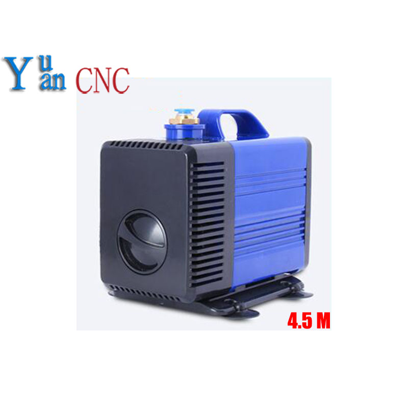 8mm water nozzle submersible water pump 100W 220V water pump for cnc router spindle motor Engraving machine pumps 4.5m цена и фото