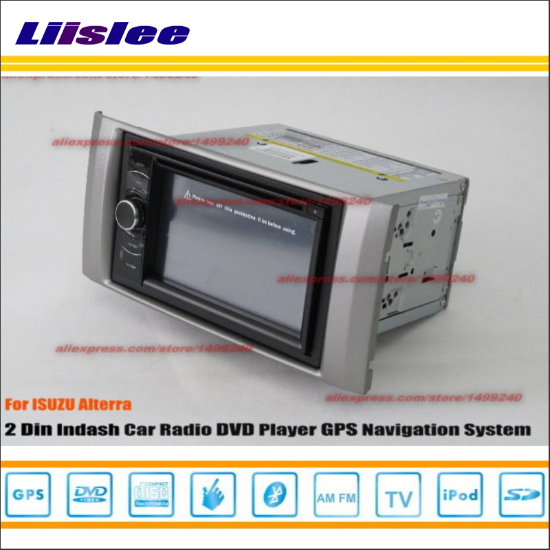 Liislee For Isuzu Alterra 2009~2011 Car Radio reo CD DVD Player GPS NAVI HD Touch Audio Video S100 Map Nav Navigation System