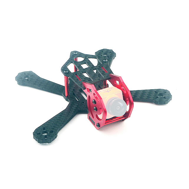 Happymodel Toad 125 3 Inch FPV Racing Drone Frame Kit 125mm Wheelbase Carbon Fiber Rack with SQ11 Protective Case