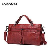 2016 Fashion Zipper Women 100 Genuine Leather Handbag Winter Newest Design Shoulder Bag Famous Brand Female