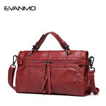 2018 Limited Real Zipper Women 100% Genuine Leather Handbag Winter Newest Design Shoulder Bag Famous Brand Female Crossbody