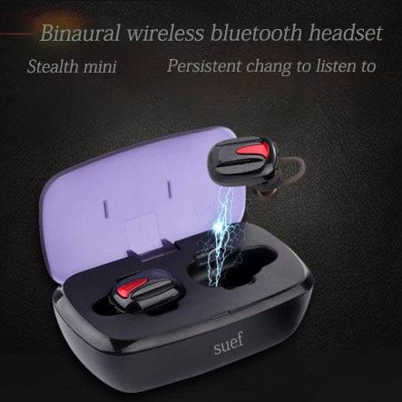 Explosão binaural mini fone de ouvido bluetooth