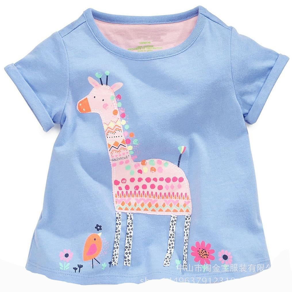 Buy 2016 summer t shirt kids girl t shirt for Newborn girl t shirts