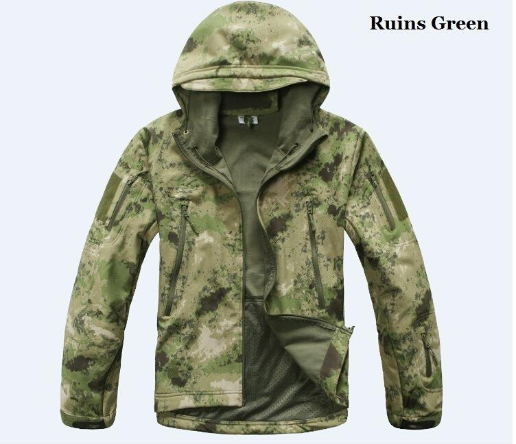 Army Tactical Jacket man Lurker Shark skin Soft Shell New TAD V4.0  Military Coat men Jacket Waterproof  Clothing