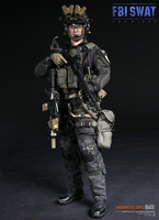 Collectible Full Action Figure Model 1:6 American FBI SWAT Team Detective Agent SAN DIEGO Detective for Gift 78044 B
