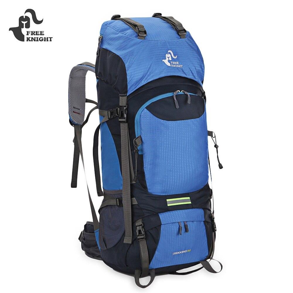 FREEKNIGHT 60L Internal Frame Long Haul Climbing Bag Unisex Backpack for Hiking Climbing Travel Camping Outdoor Sport 2017 New