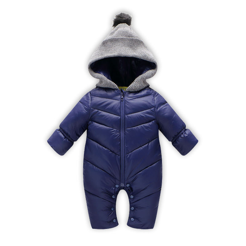 Baby Rompers Winter Jackets for Baby Girls Clothing Spring Autumn Coats Style Overalls For Baby Boys Newborn Clothes spring baby boys girls clothing winter baby hooded rompers cotton padded kids warm overalls climb clothes for newborn babies