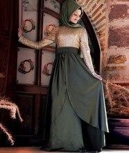 2016 muslimischen Abendkleider Mit Langen Ärmeln Pailletten Vestido De Festa Prinzessin Stil Formale Kleider Für Hochzeit Kleider
