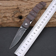 New Folding Knife HERBERTZ Survival Knifes 440 Steel Blade Pocket Hunting Tactical Knives Camping Outdoor EDC Tools Y3