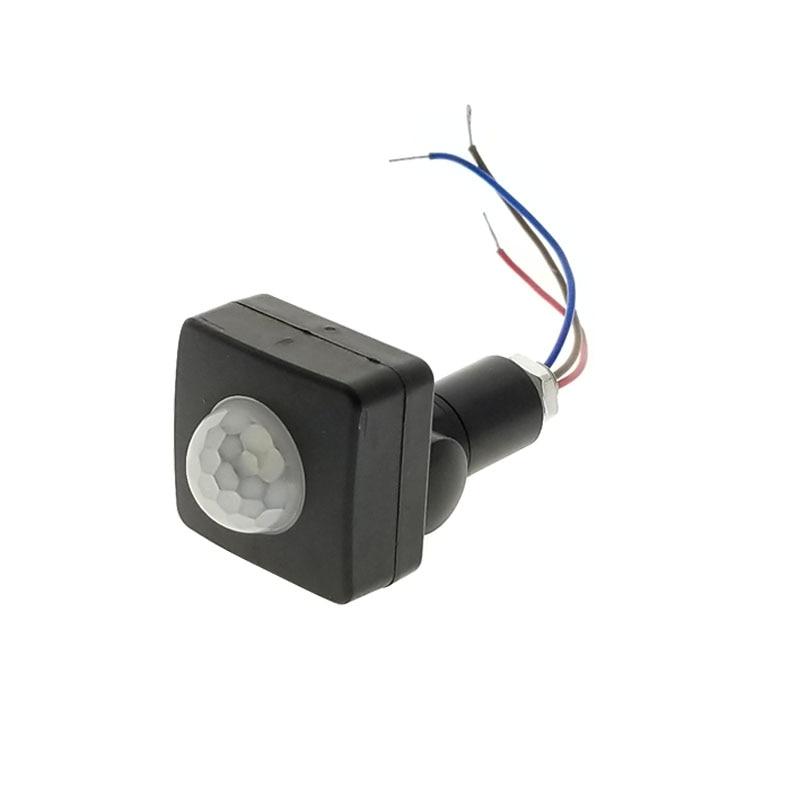 180 Degree PIR Motion Sensor Switch Led Light Strip Detector Outdoor/Indoor IP65 LED Floodlight For LED Light Bar AC 110-220V