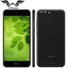 Huawei Original Nova 2 4G LTE 5.0 pulgadas 1920*1080 p Teléfono Móvil Android7.0 Kirin 659 Octa Core 4 GB 64 GB de Doble Cámara Trasera 2950 mAh