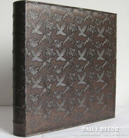 Large capacity pu leather cover and plastic sheets photo album with 24 types which can put 600 pcs of 5 inch ( 3R ) photoes
