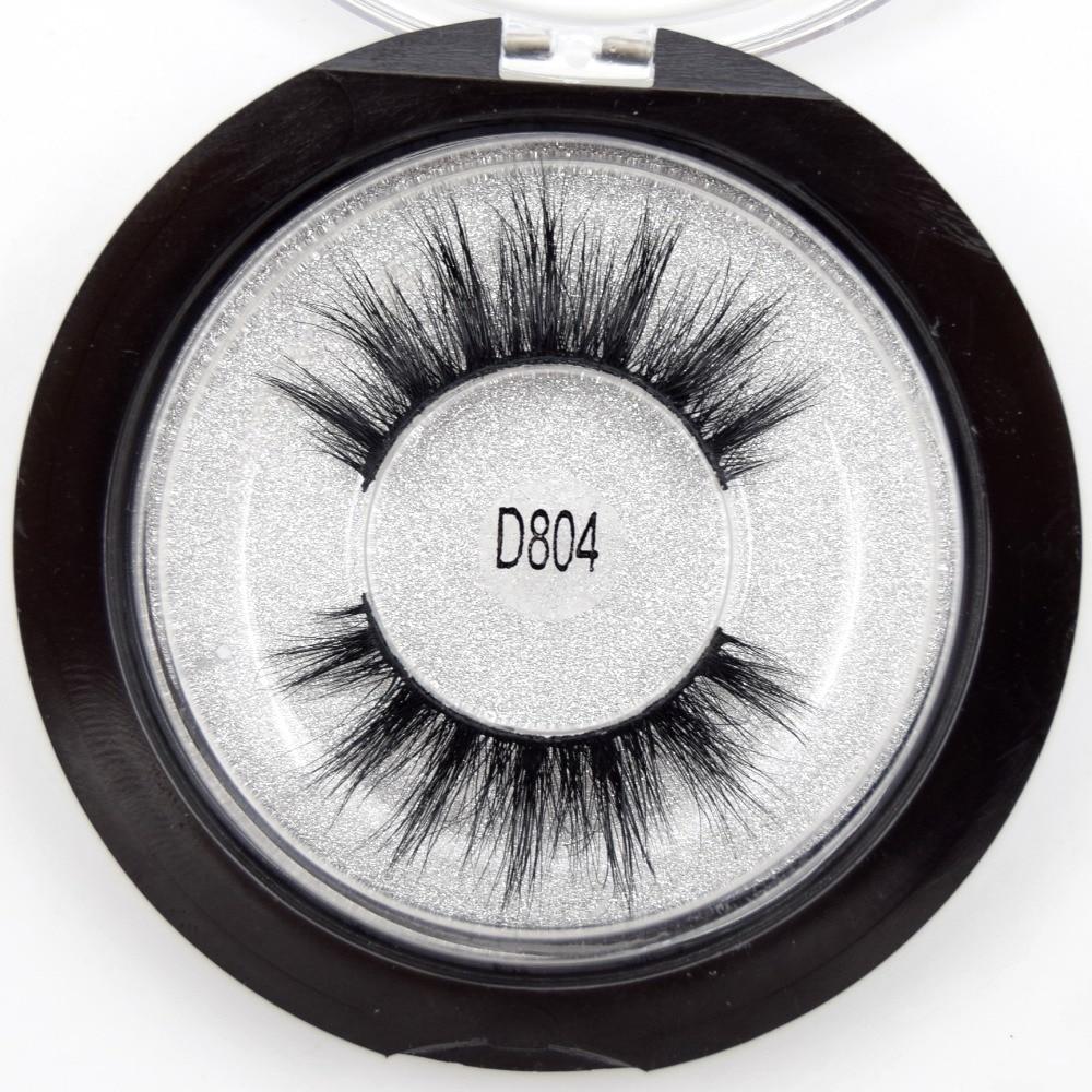 Visofree Mink Eyelashes 3D Mink Lashes Dramatic Eye Lash Handmade Cruelty-free Mink Lashes False Eyelashes Makeup Lashes D804