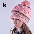 2017 Женская мода Зимние Вязать плюс бархатные шапочки Hat Шапочка Cap Bonnet gorros chapeau капелли Шляпы для женщин