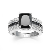 Men's Cubic Zircon Inlaid Ring