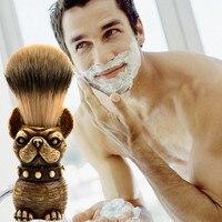 New Fashion Men's Care Personality Beard Brushes Men Shaving Brush Best Horsehair Shave Wood Handle Razor Barber Tool Beauty Beauty Tools