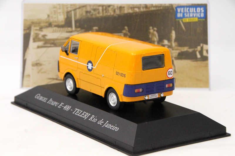 IXO Altaya 1:43 Scale Gurgel Itaipu E400 Telerj Rio De Janeiro Toys Car Diecast Models Limited Edition Collection Yellow