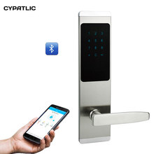 TTlock App Bluetooth Door Lock Electronic Combination Door Lock Smart Card Touch Keypad Password Lock For Home/Office/Hotel цены онлайн