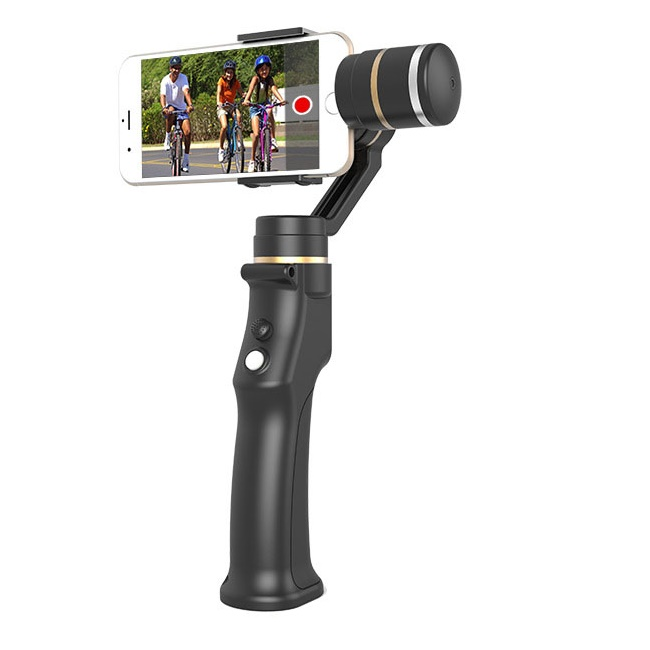 Smartphone Handheld 3 Axis gimbal stabilizer action camera selfie phone steadicam for iphone Sumsung 1pc quadcopter integrated smart handheld ptz camera osmo12mp 980mah handheld steadygrip 4k camera 3 axis gimbal x3 for osmo