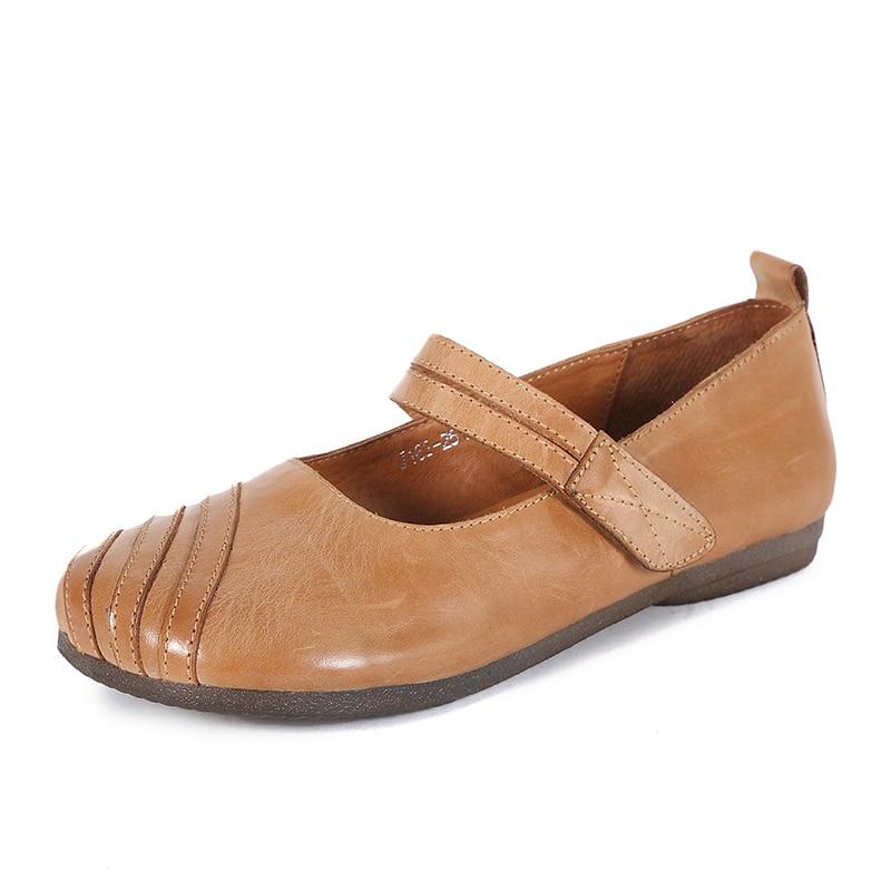 Huizumei Calidad Estilo Y Pictures As Hecho Señoras Gancho Shown Mano Nuevo 2019 Con as Alta Niña Lazo A Cuero Zapatos De Shown ra4rU0