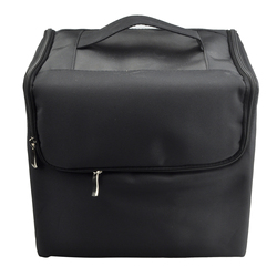 Makeup Professional Storage Beauty Box Travel Cosmetic Organizer Carry Case Black
