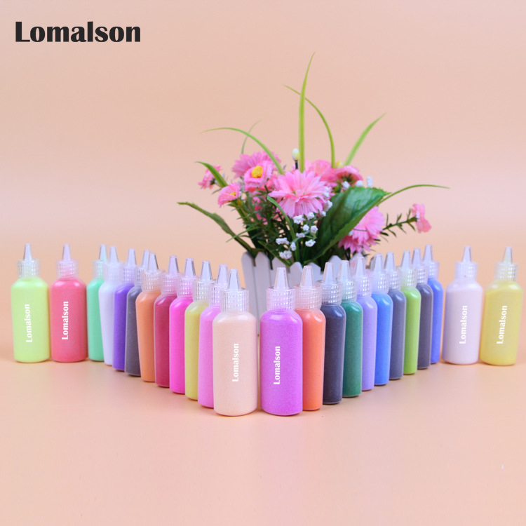 12 bottles color sand for Sand painting sand art different colors sand mixed for educational toys materials big stock wholsale water based abc drawing set