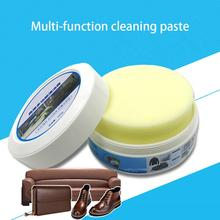 Multi-function Cleaning Paste Decontamination Cream White Shoes Small Beauty Leather Cleaner Rub Bag Sofa Detergent