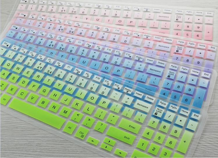 15 pulgadas cubierta de teclado del ordenador portátil Protector para Dell G3 15/17 G5 15 G7 de la serie 15 15,6
