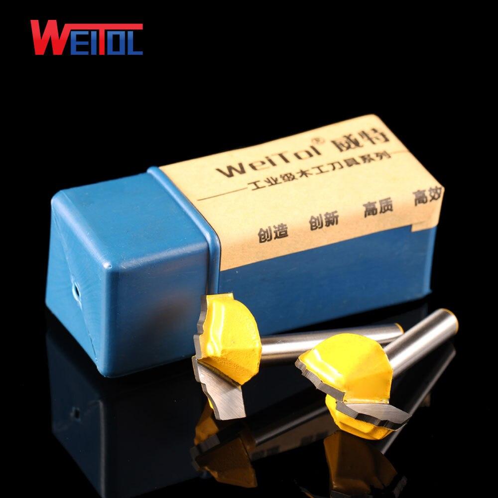 Weitol 1db 6.35mm luxus arany coler ajtó deszka vágó minta CNC - Szerszámgépek és tartozékok - Fénykép 4