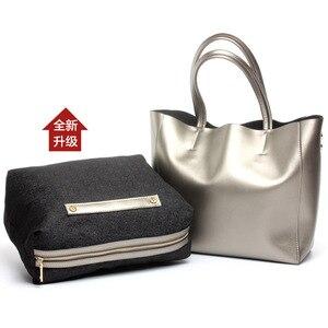 Image 5 - I più venduti borsa da donna borsa a secchiello in vera pelle borsa Casual borsa a tracolla di lusso da donna borsa a tracolla da donna in otto colori caramelle