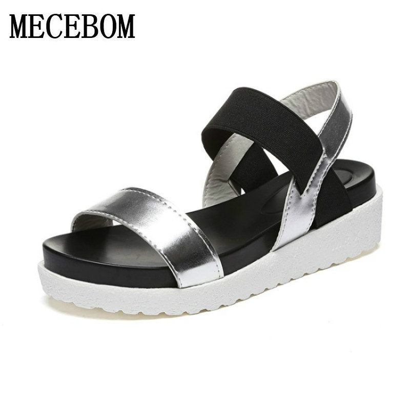 Hot Sale Women sandals women Summer shoes peep-toe flat Shoes Roman sandals mujer sandalias Ladies Flip Flops Sandal Footwear lucyever women vintage square toe flat summer sandals flock buckle casual shoes comfort ankle strap women footwear mujer zapatos