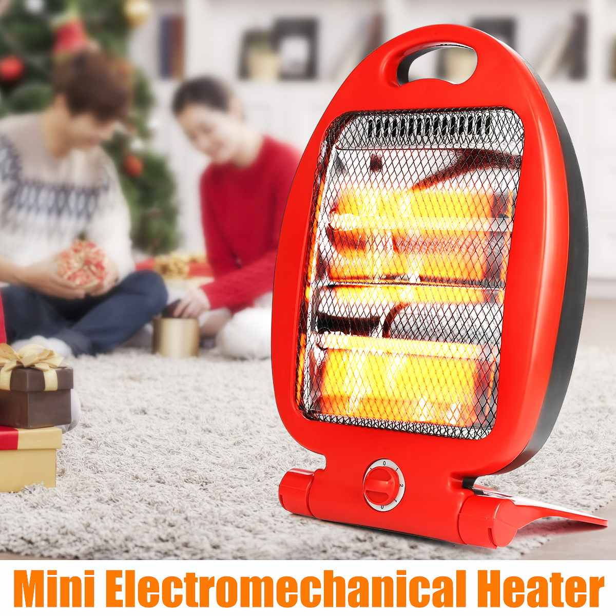 220V 800W Portable Electric Heaters Adjustable Mini Microelectronic Winter Warm Heater Mini Electromechanical Heater For Home