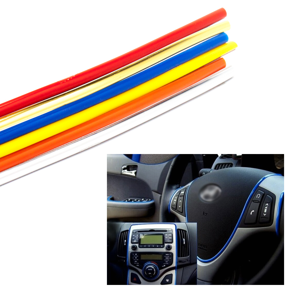 5m interior exterior mouldings trim car grille dashboard Car exterior decoration accessories