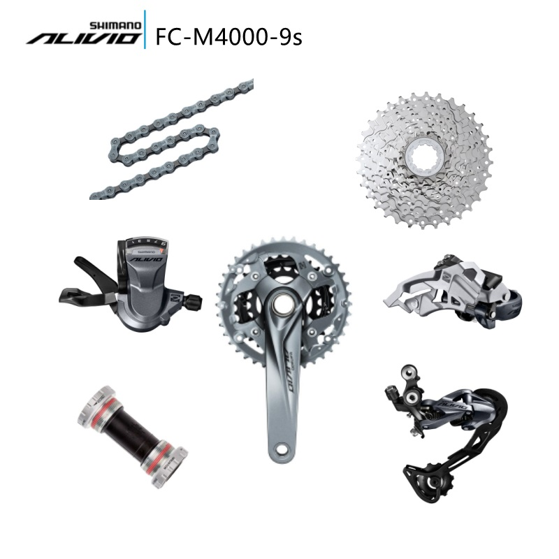Shimano bike bicycle Cycling Groupset Alivio M4000 M4050