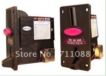 Dooren Multi coin selector acceptor self programming for 8 different coins/vending machine/casino/game machineDooren Multi coin selector acceptor self programming for 8 different coins/vending machine/casino/game machine
